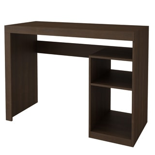 Accentuations by Manhattan Comfort Simple Aosta Tobacco Cubby Desk