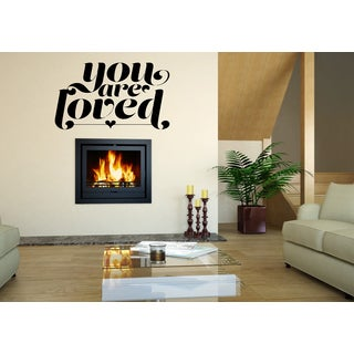 You Are Loved quote Wall Art Sticker Decal