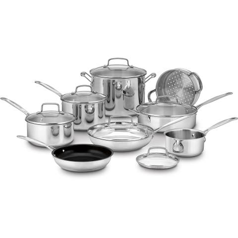 Cuisinart Chef's Classic Stainless 14-Piece Cookware Set