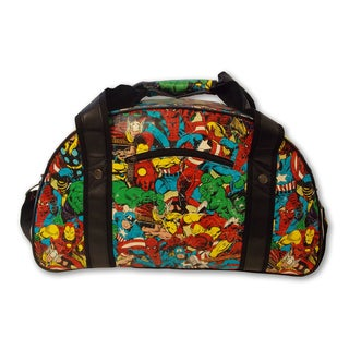 Marvel Comic Multi-Character Retro Gym Bag
