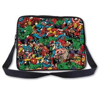 Marvel Comic Multi-Character Messenger Bag