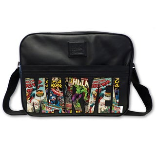 Marvel Comic Logo Messenger Bag