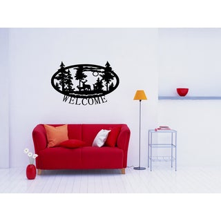 Welcome to nature Wall Art Sticker Decal