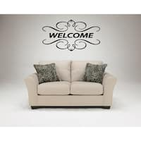 Welcome Beautiful design Wall Art Sticker Decal