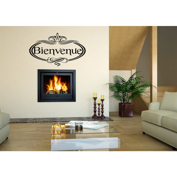 Bienvenue Beautiful design Wall Art Sticker Decal