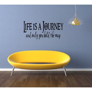Life is a Journey quote Wall Art Sticker Decal