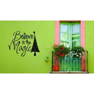 Belief in magic Wall Art Sticker Decal