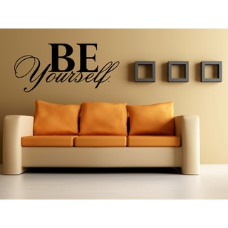 Be yourself Expression Wall Art Sticker Decal
