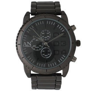 Olivia Pratt Men's Metal AN London Decorative Chronograph Watch