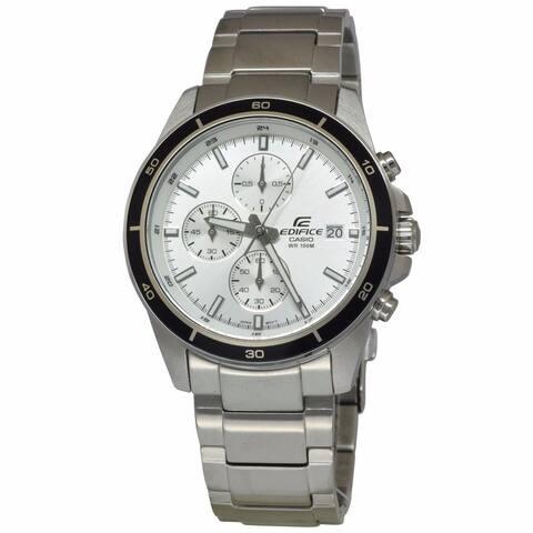 Casio Men's Edifice White Watch