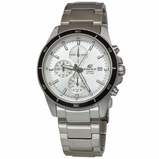Casio Men's EFR526D-7A Edifice White Watch