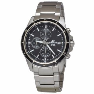 Casio Men's EFR526D-1A Edifice Black Watch