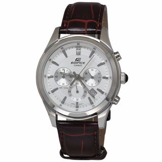 Casio Men's EFR517L-7A Edifice White Watch