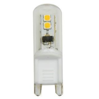 Goodlite 2W LED G9 Dimmable, 220 Lumens 300 Beam Angle 30W 120v 27k UL Listed T9 Light Bulb (Case of 20)