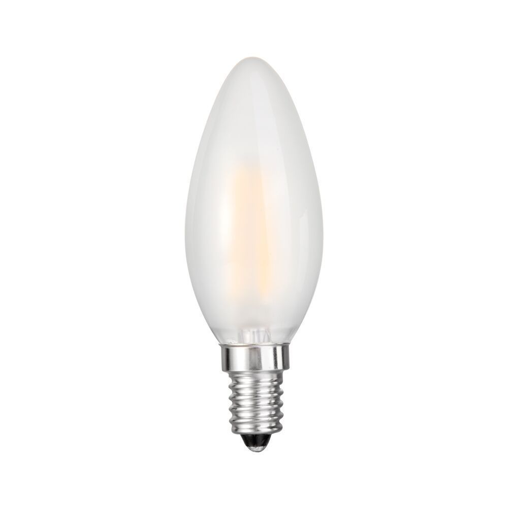 Goodlite Frosted Filament Torpedo Led Dimmable, 5 Watt Ca...
