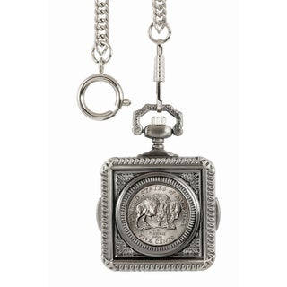 American Coin Treasures Westward Journey Bison Nickel Pocket Watch