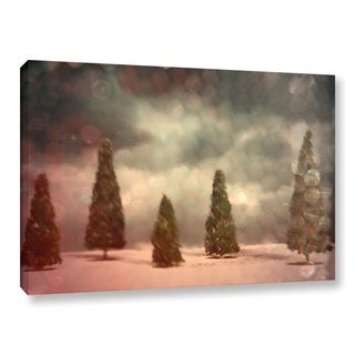 ArtWall Mark Ross's '5 Pine' Gallery Wrapped Canvas