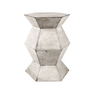 Dimond Home Gusto Stool With Concrete Finish