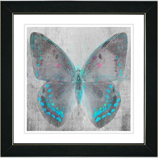 Studio Works Modern 'Dusk Butterfly' Wall Art Framed Fine Art Print