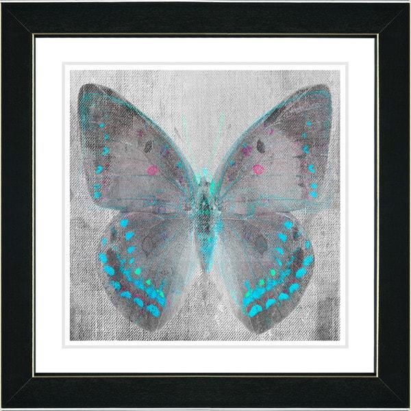 Studio Works Modern 'Dusk Butterfly' Wall Art Framed Fine Art Print