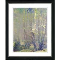 Studio Works Modern 'Spring Forest' Framed Fine Wall Art Print