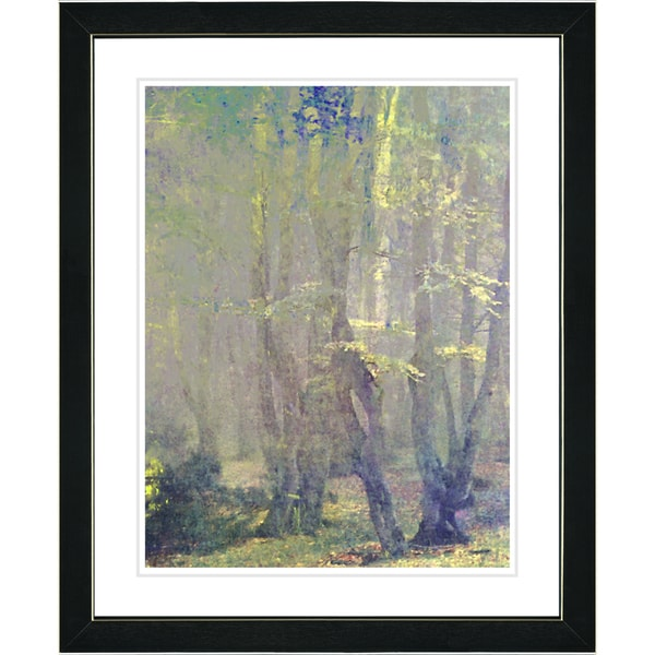 Studio Works Modern 'Spring Forest' Framed Fine Wall Art Print