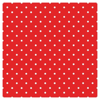 Polka-dot Red Navy Blue Vinyl Sheets Heat Transfer Vinyl