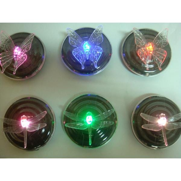 floating solar led dragonfly or butterfly lights free shipping on orders over 45