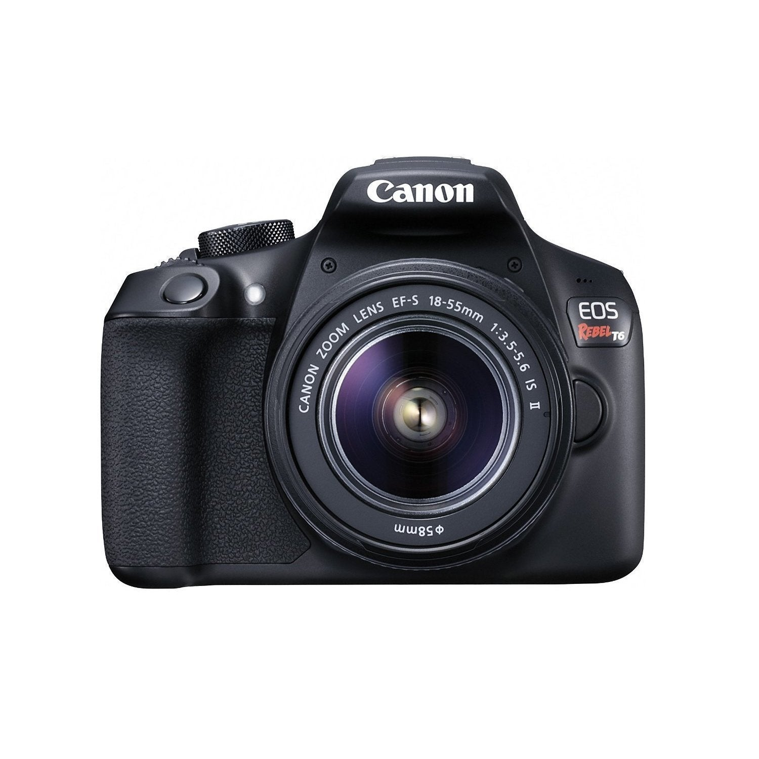 Canon EOS Rebel T6 18 Megapixel Digital SLR Camera with L...