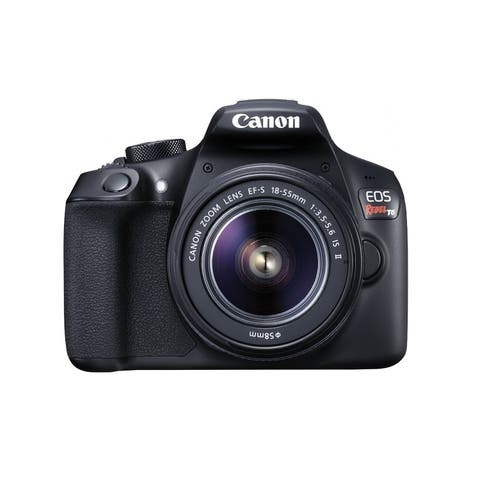 Canon EOS Rebel T6 18 Megapixel Digital SLR Camera with Lens - 18 mm - 55 mm