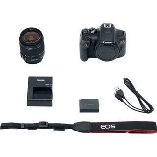 Canon EOS Rebel T6 18 Megapixel Digital SLR Camera with Lens - 18 mm - 55 mm