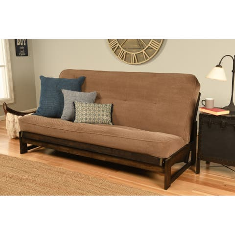 Copper Grove Uncompahgre Mocha Futon Frame and Microfiber Futon Mattress
