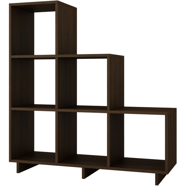 Accentuations By Manhattan Comfort Sophisticated Cascavel Stair - Cube shelves