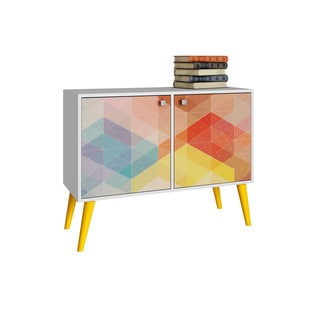 Accentuations by Manhattan Comfort Avesta 3-shelf Side Table