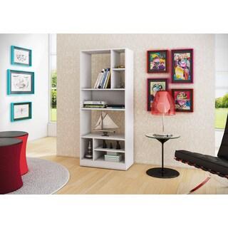 Accentuations by Manhattan Comfort Durable Valenca 8-shelf Bookcase 3.0