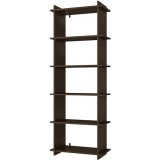 Accentuations by Manhattan Comfort Convenient Gisborne 5-shelf Bookcase 2.0