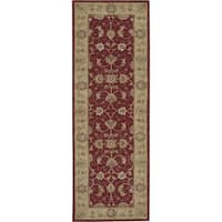 Nourison Heritage Hall Lacquer Rug - 2'6 x 8'