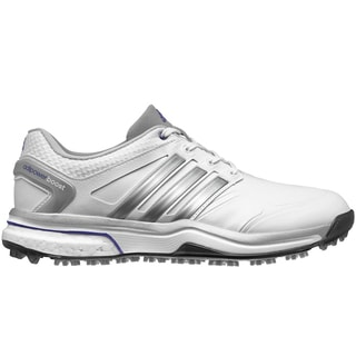 Adidas Adipower Boost Golf Shoes Ladies CLOSEOUT White/Silver/Purple