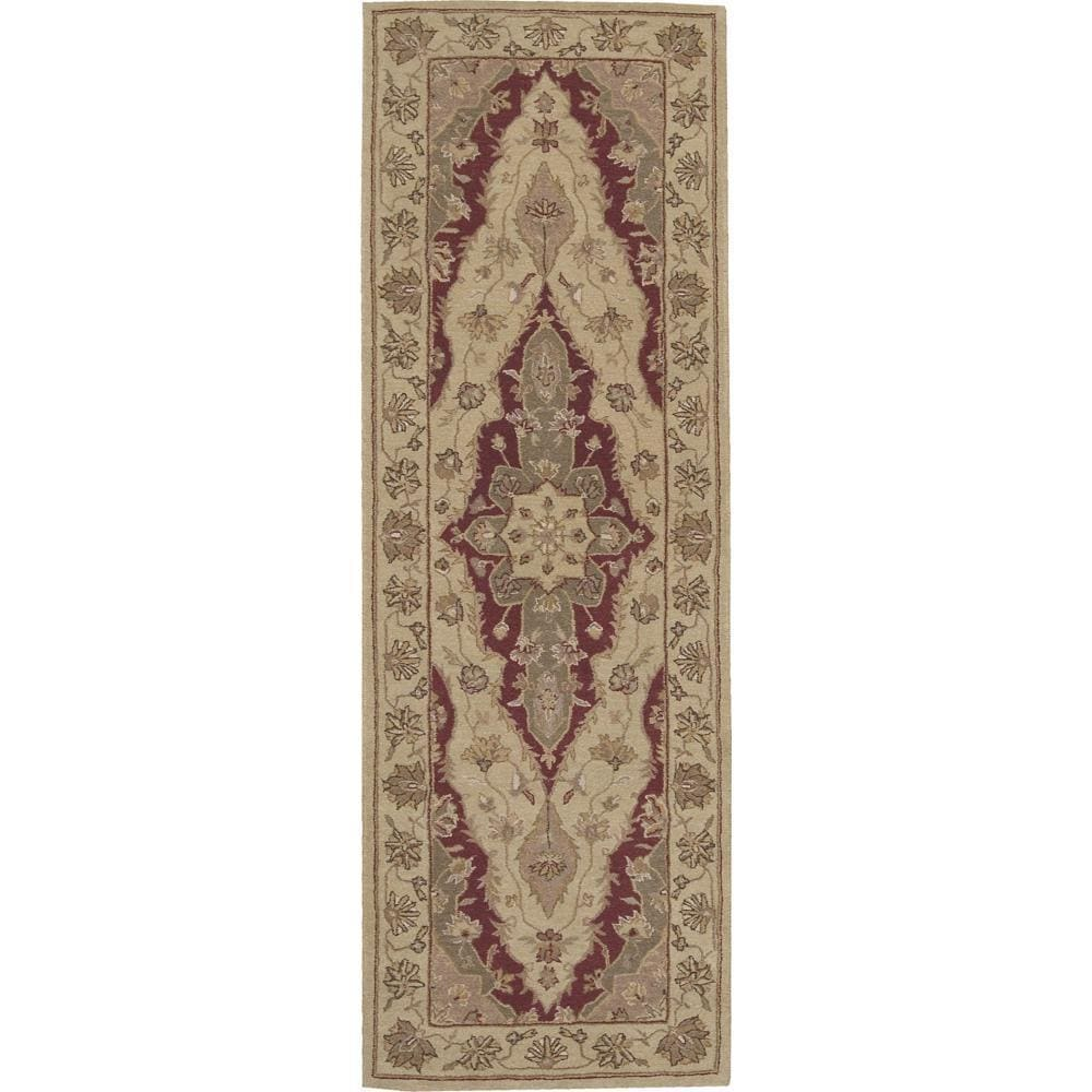 """Nourison Heritage Hall Lacquer Rug (2'6 x 8') (2'6"""" x 8')..."""