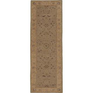 Nourison Heritage Hall Green Rug (2'6 x 8')