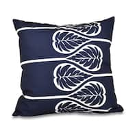 Fern 2 Floral Print 18-inch Throw Pillow