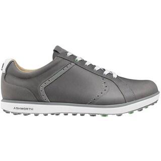 Ashworth Cardiff ADC 2 Golf Shoes 2015 Medium Grey/Dark Silver/Shamrock Green