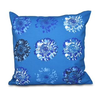 Gypsy Floral 2 Floral Print 16-inch Throw Pillow
