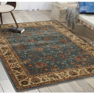 Nourison Persian Arts Light Blue Rug (3'6 x 5'6)