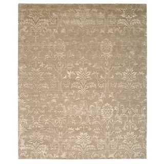 Nourison Silk Shadows Light Gold Rug (3'9 x 5'9)
