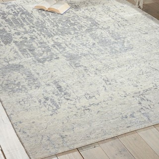 Nourison Silk Shadows Sterling Rug (3'9 x 5'9)