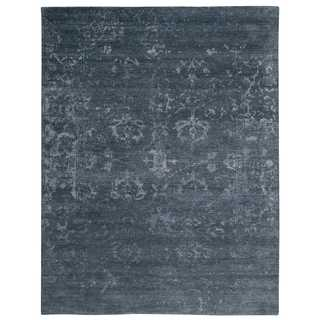 Nourison Silk Shadows Blue Stone Rug (3'9 x 5'9)