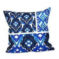Free Spirit Geometric Print 16-inch Throw Pillow