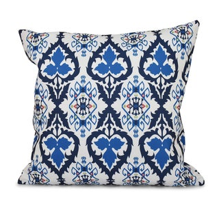 Bombay Geometric Print 18-inch Throw Pillow