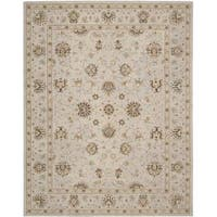 Nourison Heritage Hall Light Blue Rug (5'6 x 8'6)